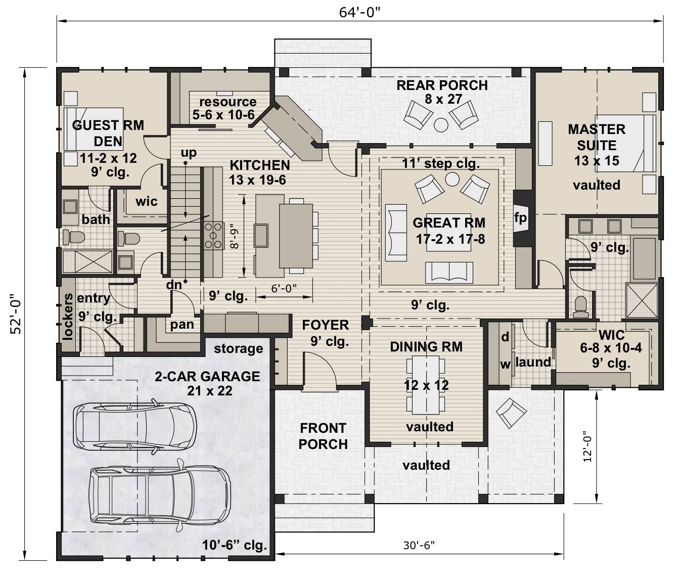 1st Floor Plan image of Country Compton House Plan
