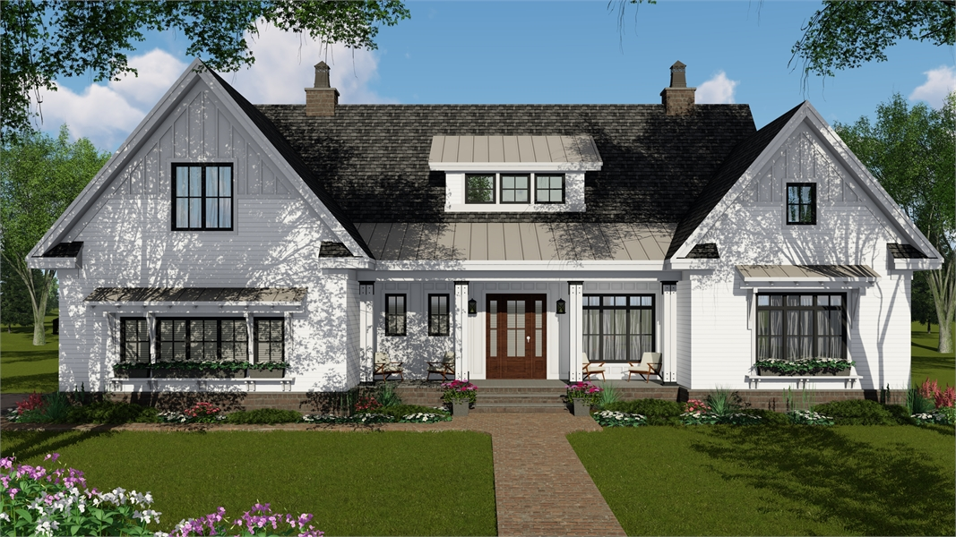 Front Photo image of Glocester House Plan