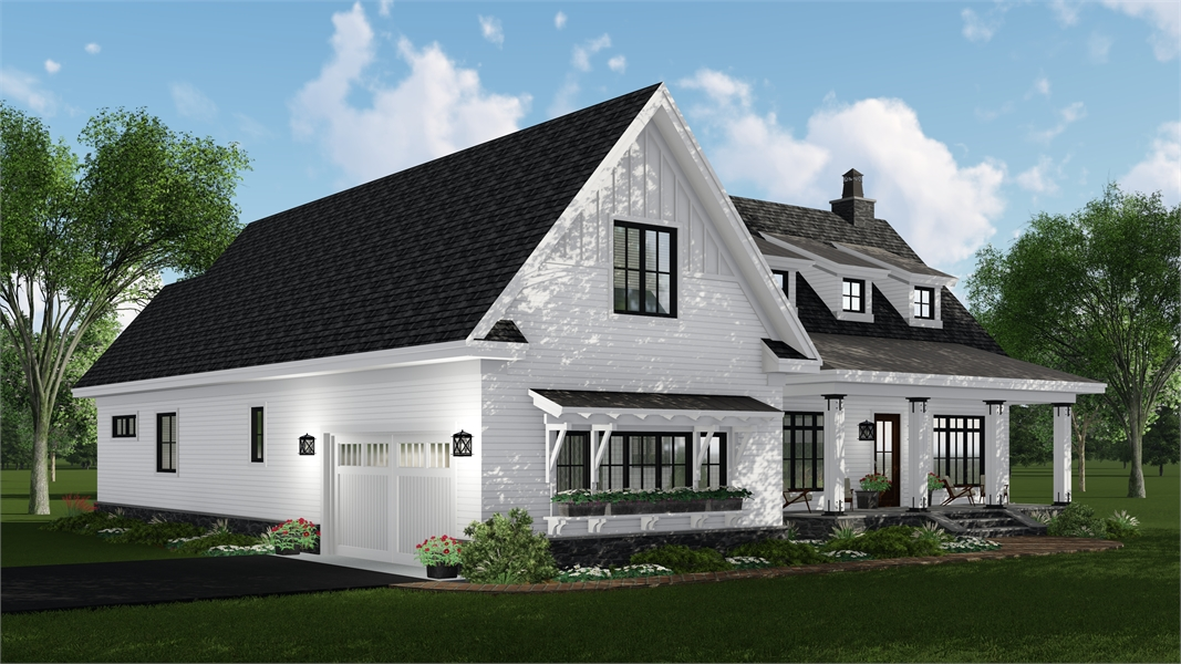 Left Side by DFD House Plans