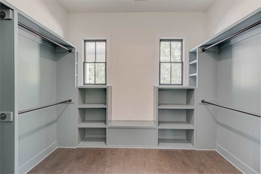 Walk-In Closet image of Millerville House Plan