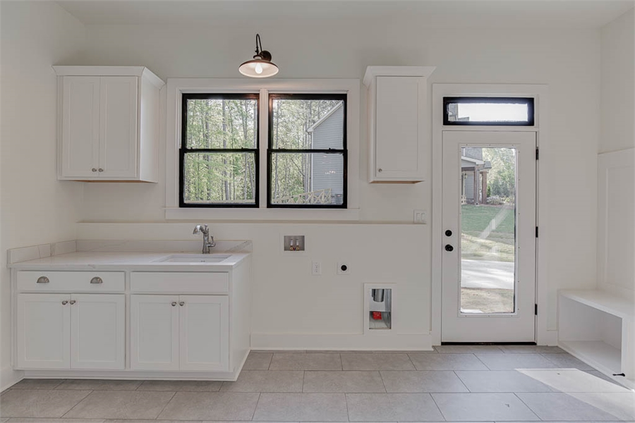 Laundry Room image of Tiverton House Plan