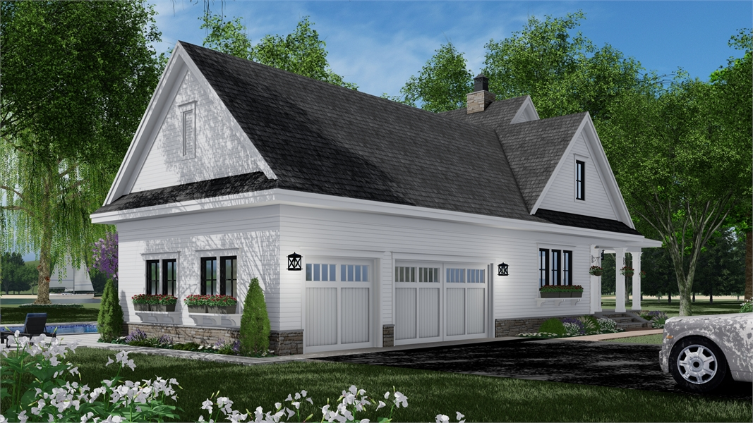 Garage by DFD House Plans