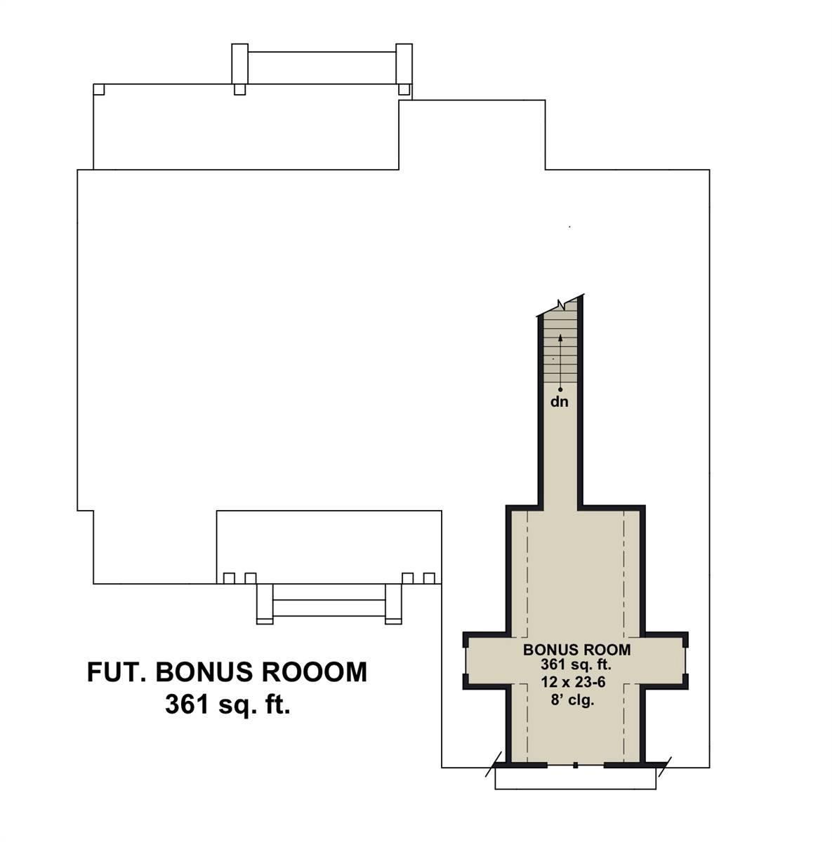 Bonus Floor Plan