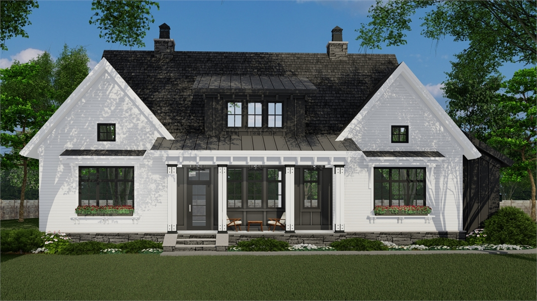 Front Photo image of Hidden Brook House Plan