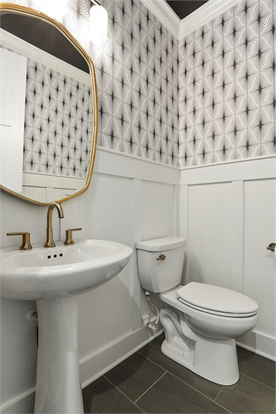 Powder Room image of Green Acres House Plan
