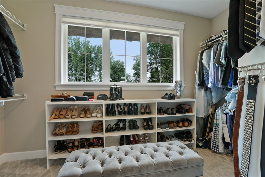 Walk-In Closet image of Green Acres House Plan