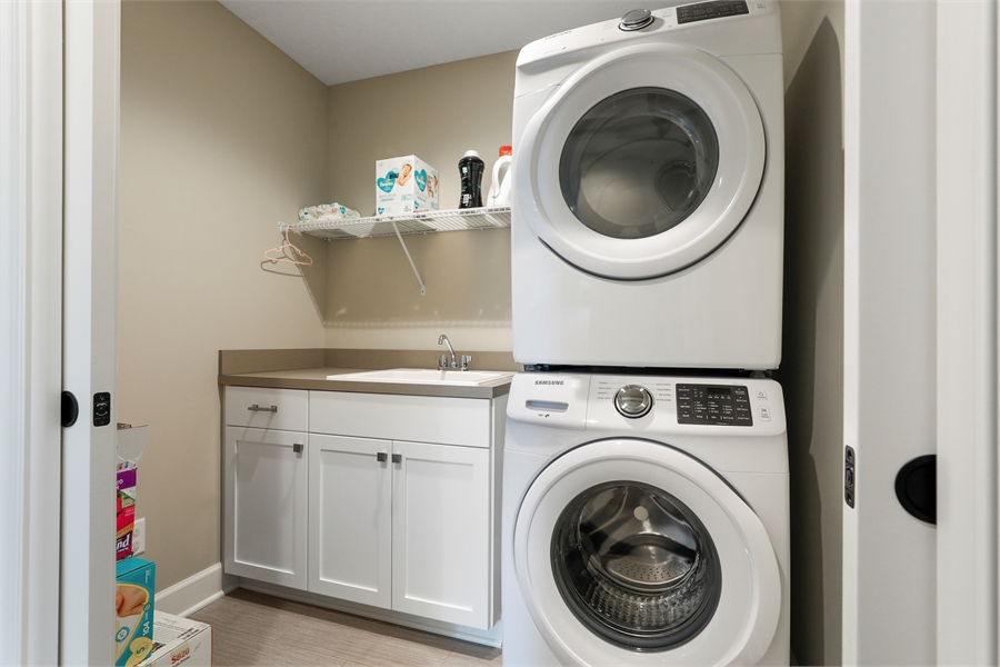 2nd Floor Laundry Room image of Green Acres House Plan