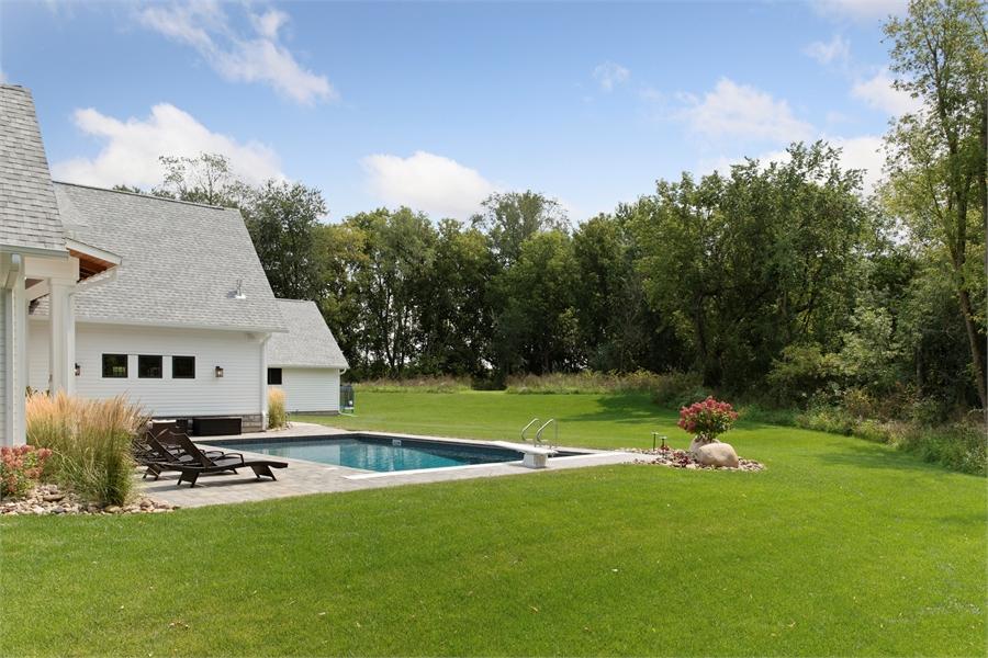 Backyard image of Green Acres House Plan