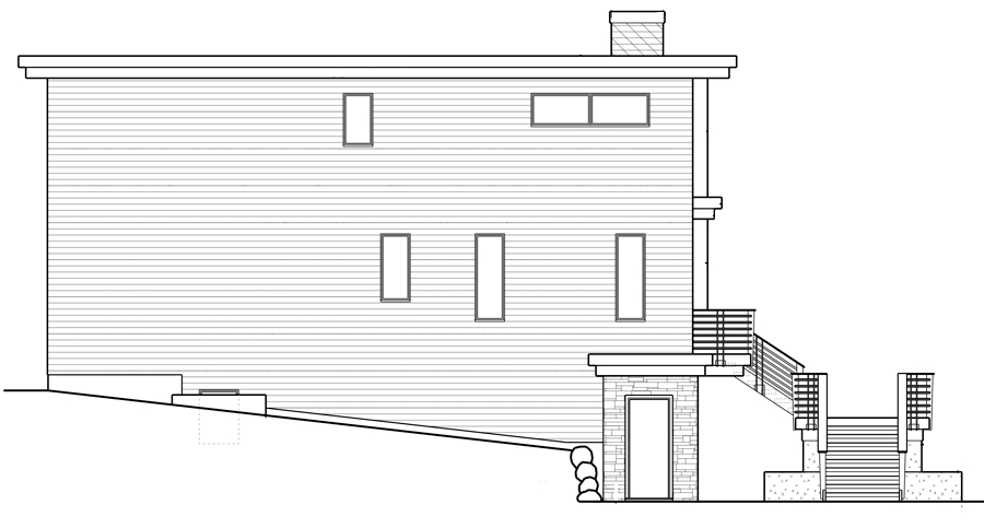 Left Side Rendering