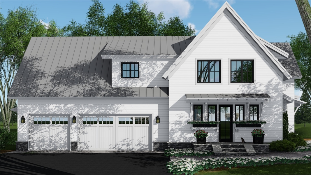 Side Rendering by DFD House Plans