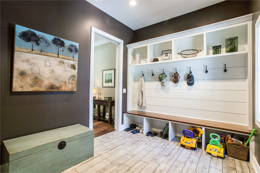 Mud Room by DFD House Plans