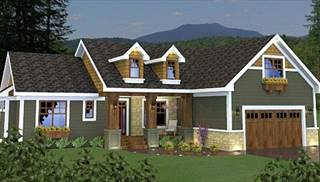 Affordable Country House Plans by DFD House Plans