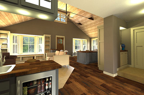 Interior by DFD House Plans