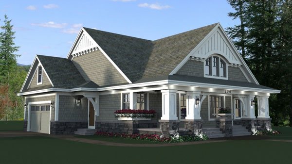 Front Rendering image of Stratton House Plan