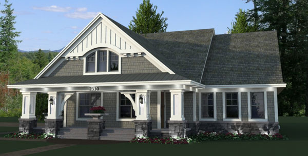 House Plan 9669: Bungalow House Plans
