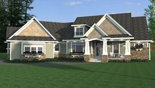 Craftsman House Blueprints by DFD House Plans