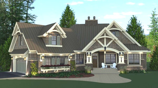Front Photo image of Litchfield House Plan