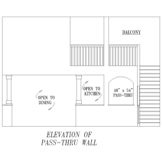 Pass-Thru Detail image of Plan 8488