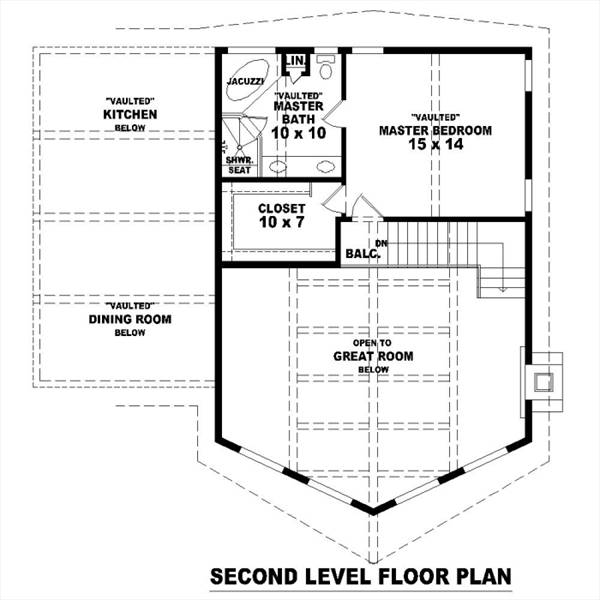 2nd Level by DFD House Plans