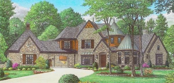 House Miles Avery Manor House Plan - Green Builder House Plans