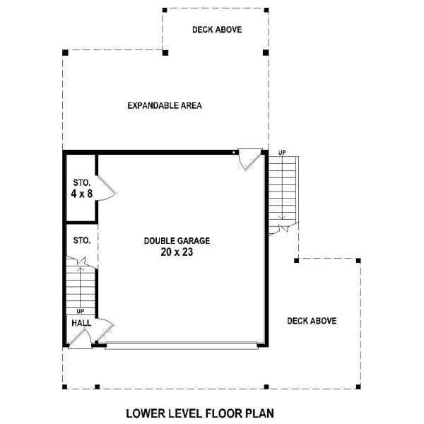 1st Level by DFD House Plans