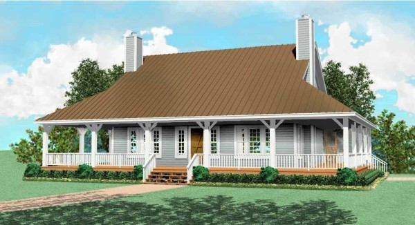 All siding by DFD House Plans