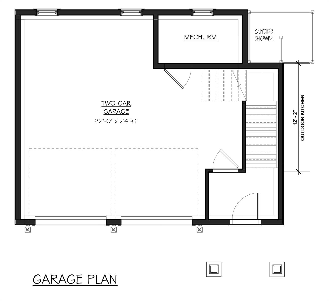 Garage Floor Plan
