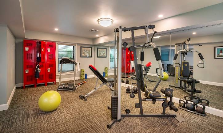 Fitness Room by DFD House Plans