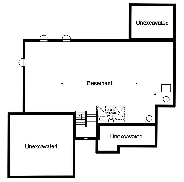 Foundation Plan by DFD House Plans