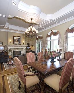 Great /Dining Room by DFD House Plans