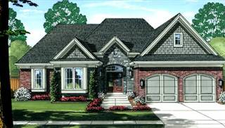 Antioch Front Color Elevation by DFD House Plans