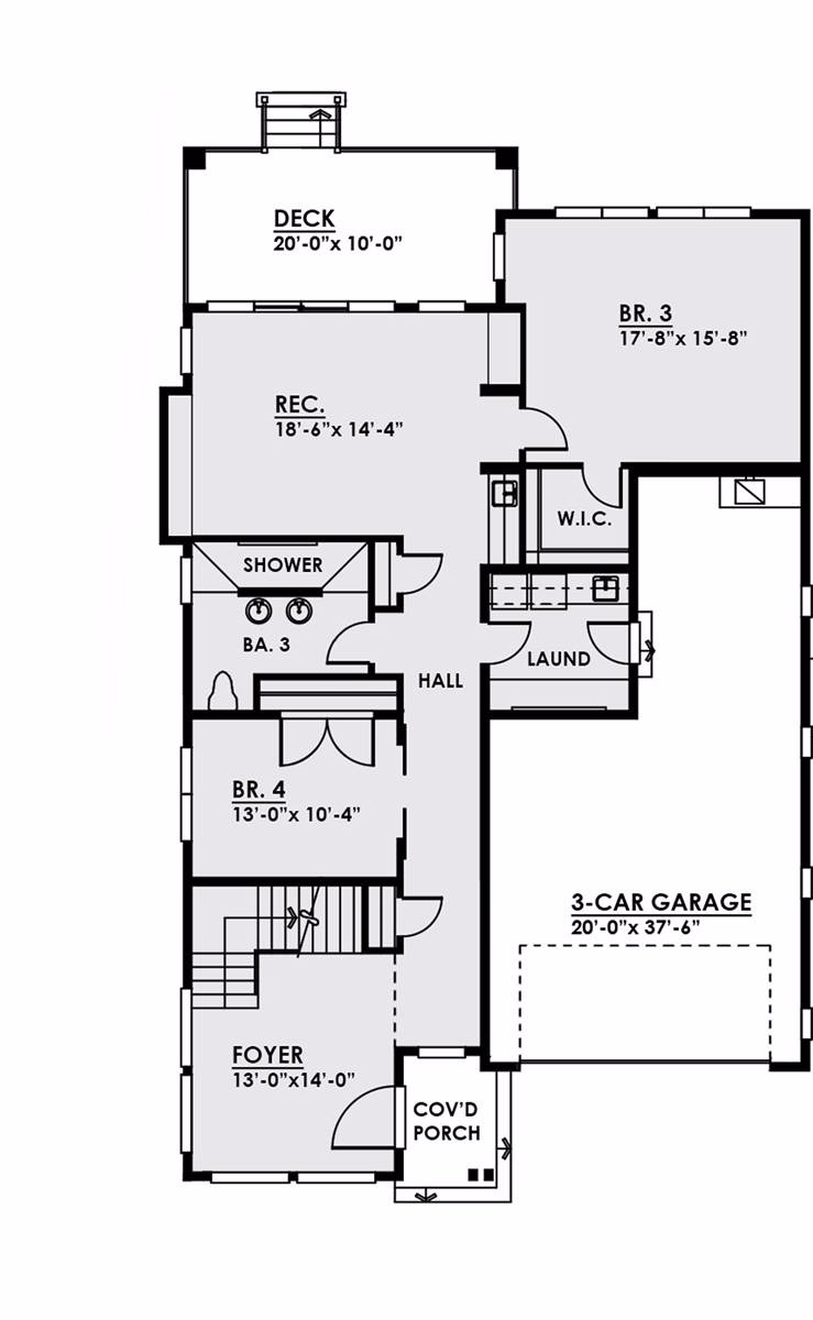 1st Floor by DFD House Plans