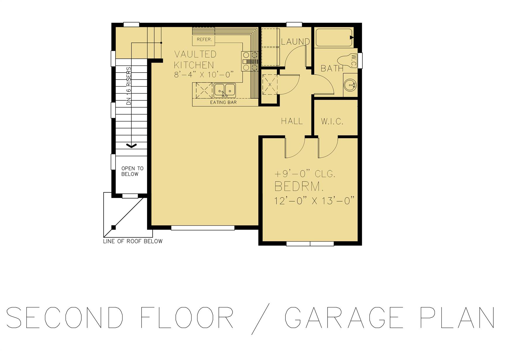 Second Floor - Garage