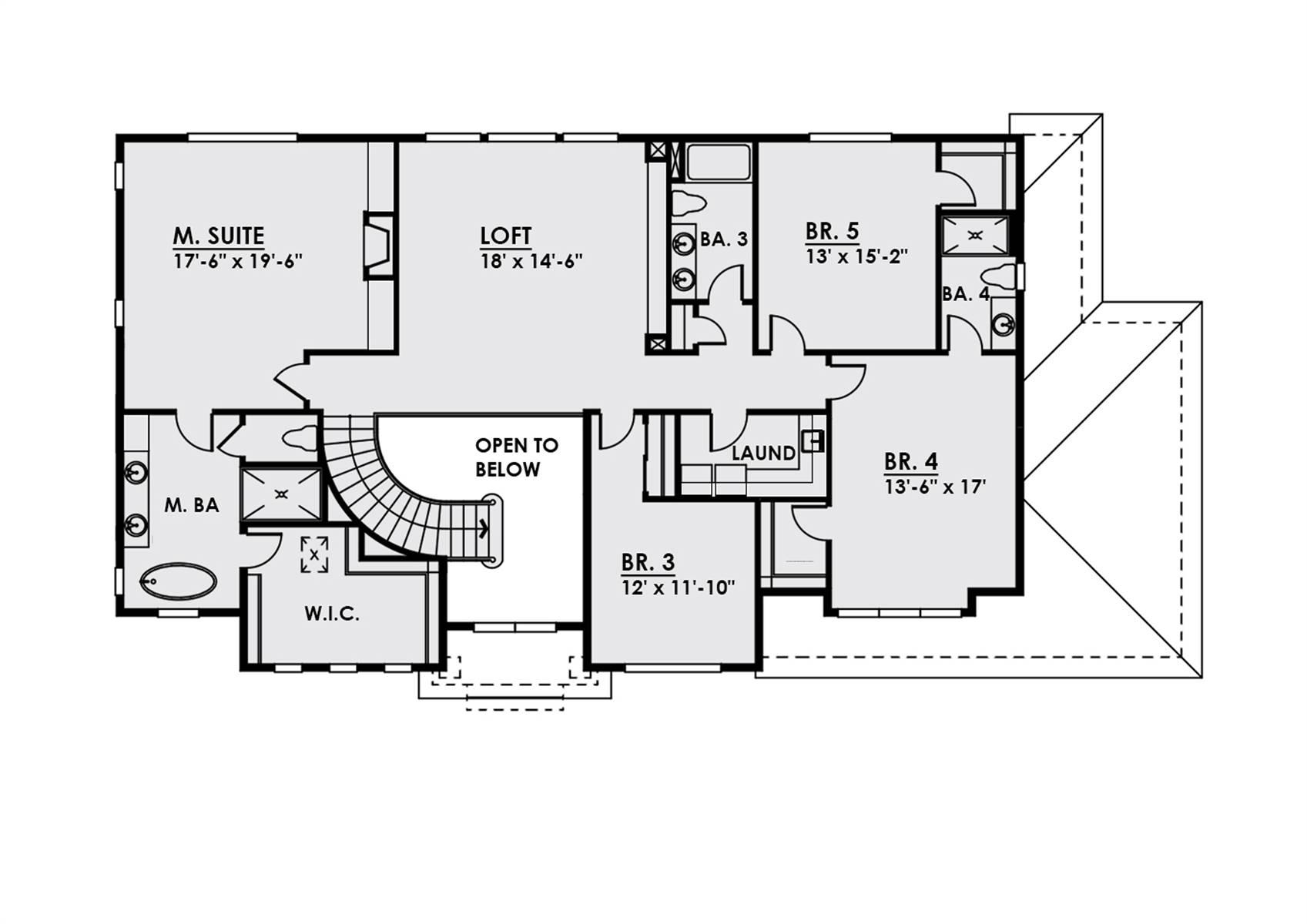 2nd Floor image of Plan 4457