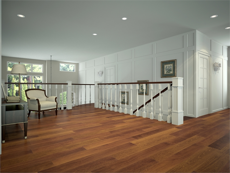 Landing by DFD House Plans