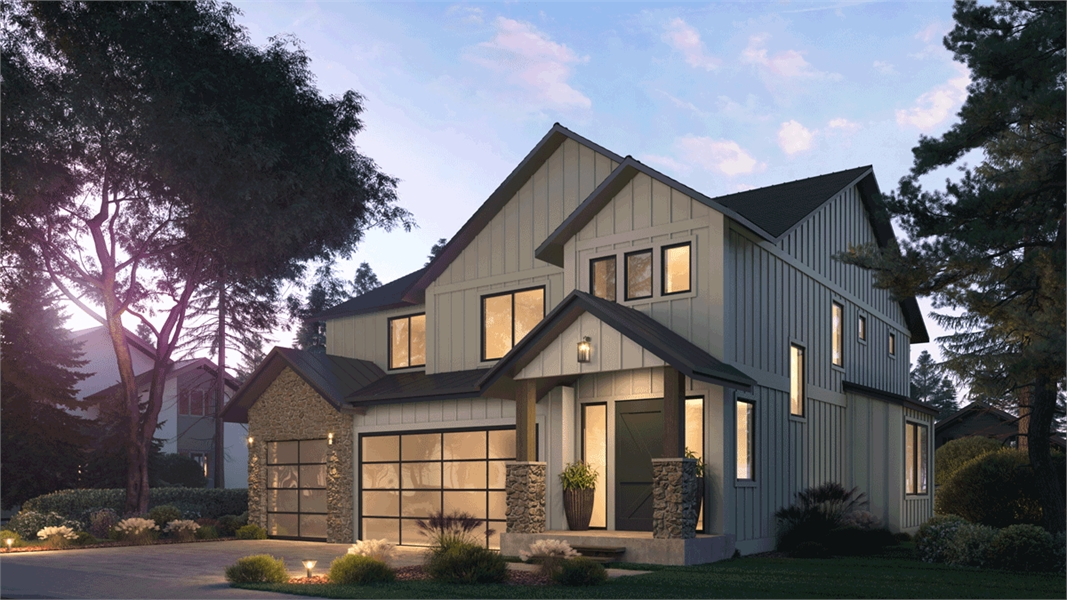 Right View image of Tacoma House Plan