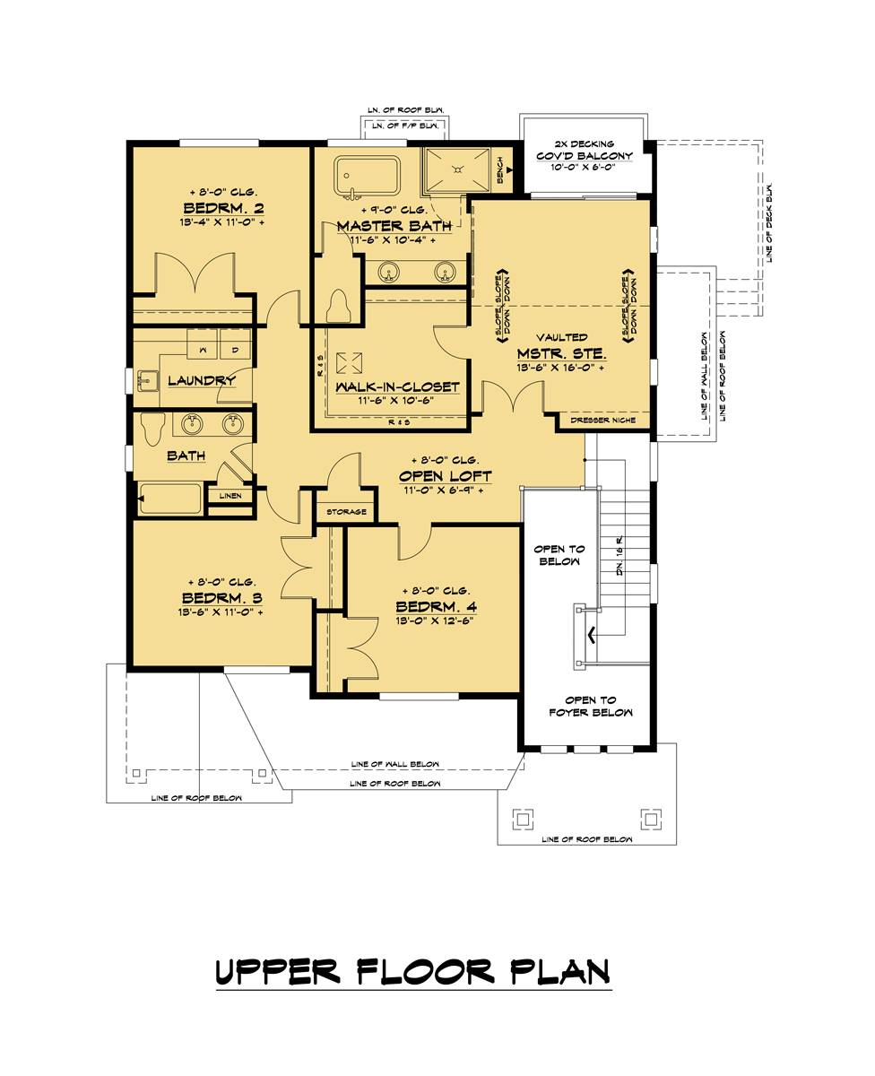 2nd Floor image of Tacoma House Plan