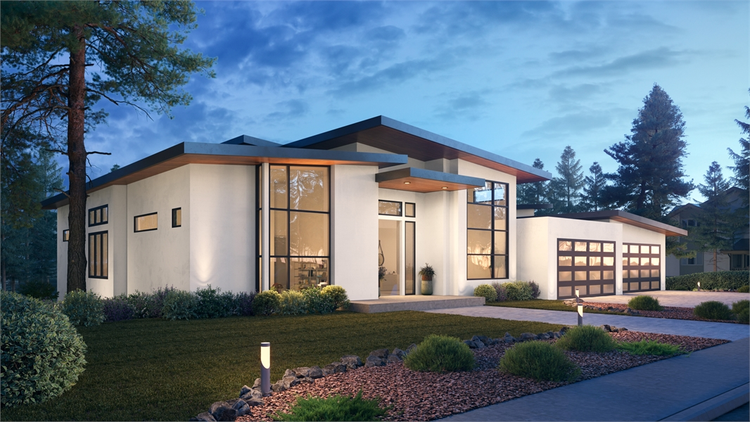 Front View image of Verona House Plan
