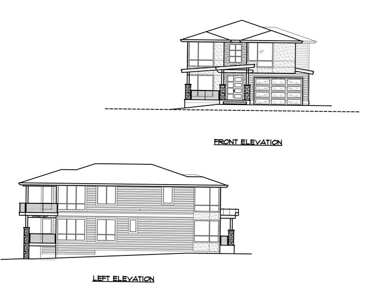 Front/Left Elevation