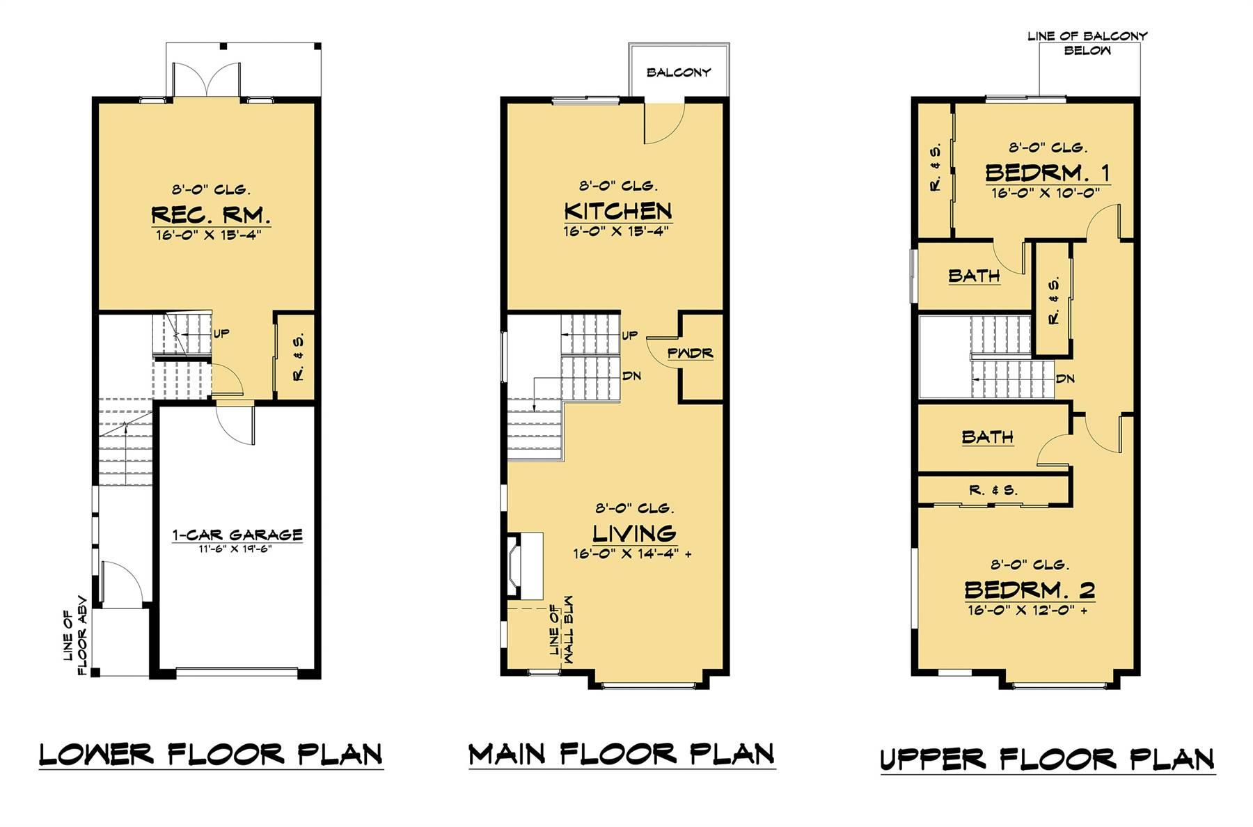 Unit 1 Floor Plan