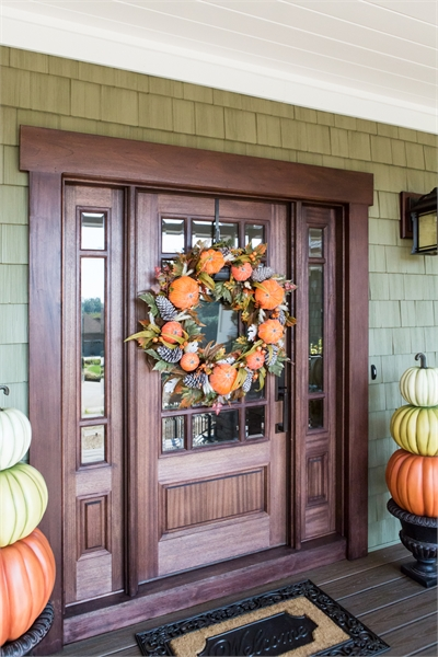 Front Door by DFD House Plans