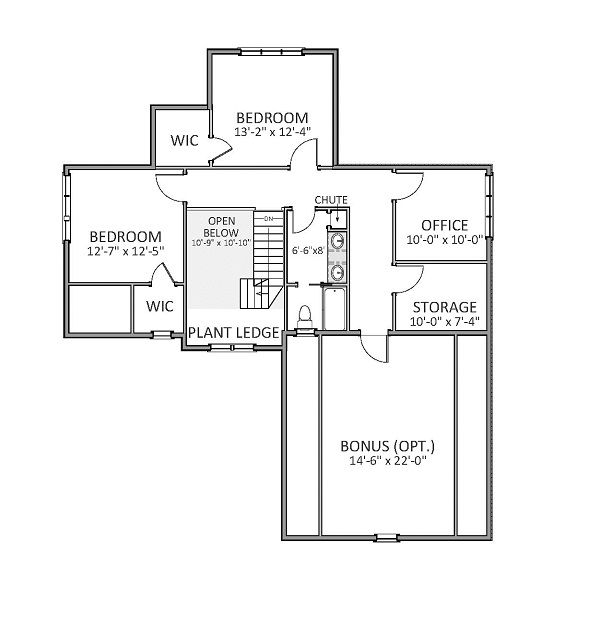 Craftsman House Plan With 3 Bedrooms And 2 5 Baths Plan 9291