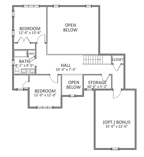 Country House Plan With 3 Bedrooms And 2 5 Baths Plan 9314