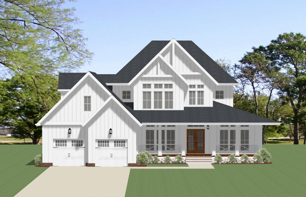 Front image of Waverly - B House Plan