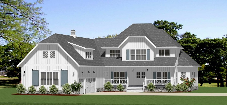 Front View image of Wellspring House Plan