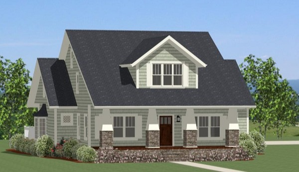 Front Elevation image of Latham Park House Plan