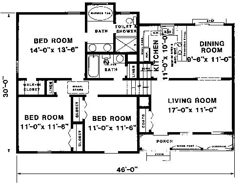 main and upper levels by DFD House Plans
