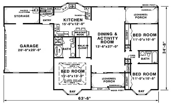 floor plan image of Plan 1573