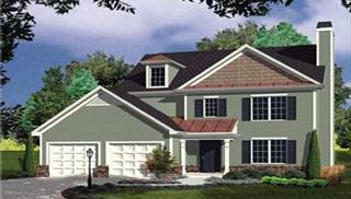 Colonial Style Home Plans by DFD House Plans