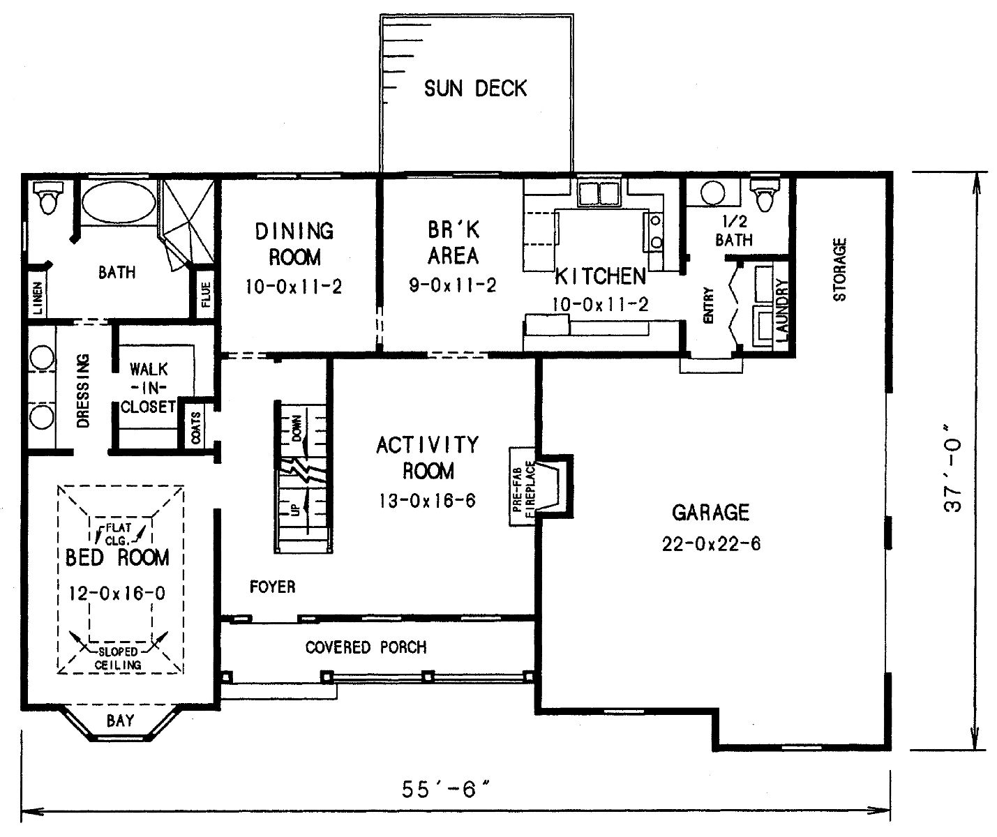 Cape Cod House Plan With 3 Bedrooms And 2 5 Baths Plan 3683